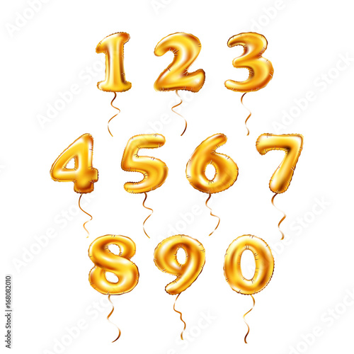 Vector Golden Number 1 2 3 4 5 6 7
