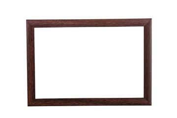 Brauner Bilderrahmen aus Holz