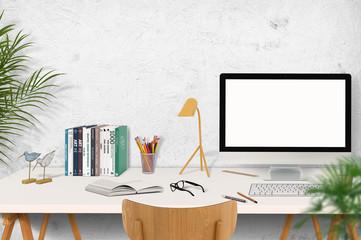 Schreibtisch / Büro / Arbeitszimmer
