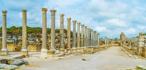 Archaeological zones of Antalya