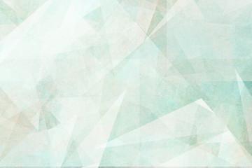 Pastell Töne - Türkis und Blau - Abstraktes Design