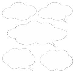 Speech bubble - fototapety na wymiar