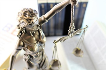 An image of a justitia