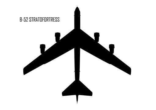 B-52 stratofortress silhouette