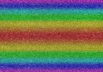 Glitter rainbow background texture colored bright sparkle