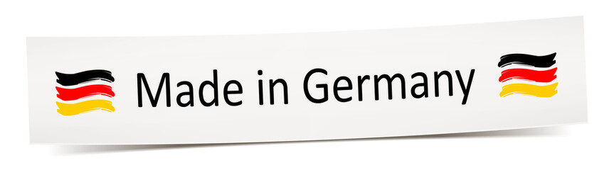 Made in Germany - label