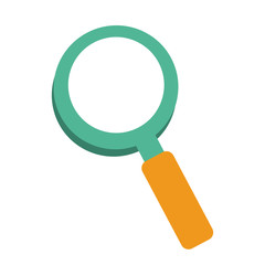 magnifying glass icon image vector illustration design