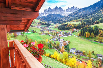 Wall Mural - Dolomite Alps, Italy.