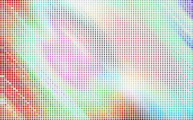 colored circles. colorful dots. abstract color background pattern. grunge texture. halftone effect. vector illustration