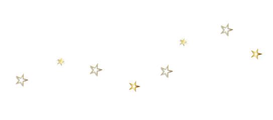 Weihnachten Sterne Band Banner Hintergrund Gold Welle Wellen