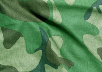 Camouflage uniform abstract pattern.