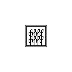 Infinity Leaf Chain Logo Design Template