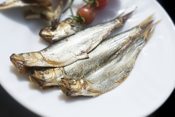 Getrocknete Fische