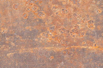 Old rusted metal abstract texture, macro shot
