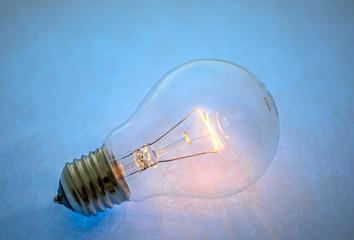 Filament bulb, electric, light, lamp, glowing, loss