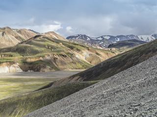 Montagnes et couleurs du Landmannalaugar (Islande)