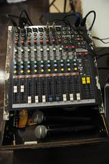 DJ equipment mixer