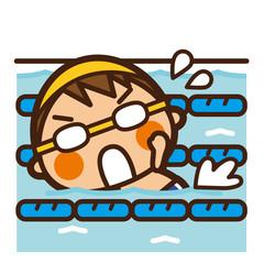 がっこうKids 水泳男子 クロール