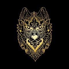 Tribal ethnic wolf