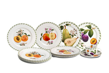 Decorated ceramics made in italy