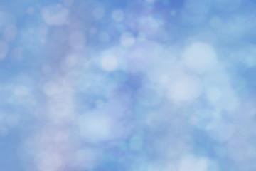 blauer Bokeh Hintergrund