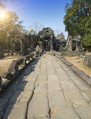 Temple ruins (XII th Century) , Siem Reap, Cambodia
