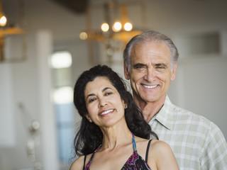 Portrait of smiling mature couple