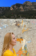 Classic graffiti-Lycia coast