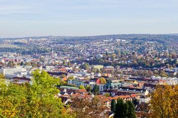 Blick über Pforzheim