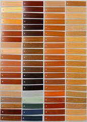 Wood palette sample material