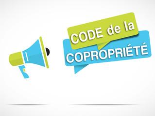 mégaphone : code de la copropriété