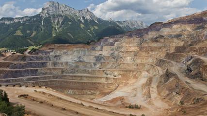 Eisenerz - Erzgewinnung und Abbau am Erzberg