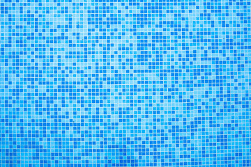 1314256 Swimming pool blue mosaic background.
