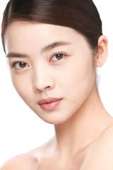The young woman makeup portrait