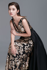 Elegant lady portrait