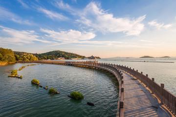 Yuantouzhu scenery of Wuxi,Jiangsu Province,China