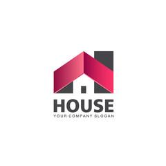 Vector logo design. House icon