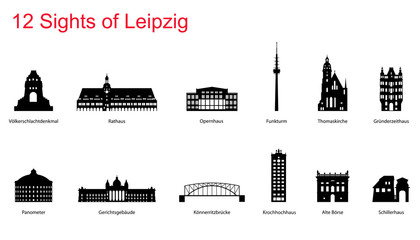 12 Sights of Leipzig