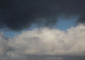 White cloudes