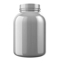 Gray Protien Bottle