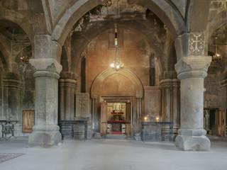 Psalmenkloster, Kloster, Saghmosavankh, Armenien, Asien