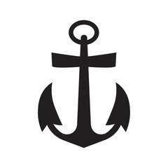 ship anchor icon- vector illustration