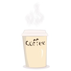 glass of hot coffee