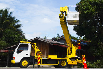 Sky Lift Truck