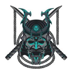 Samurai mask Japanese