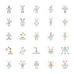 Robotics Colored Icons