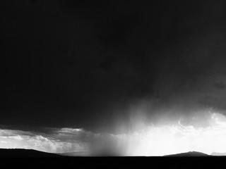 Big Bend Rain Clouds