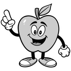 Apple Talking Illustration