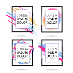 Set of Vector frame for your text