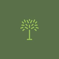 Tree - sign, symbol.
